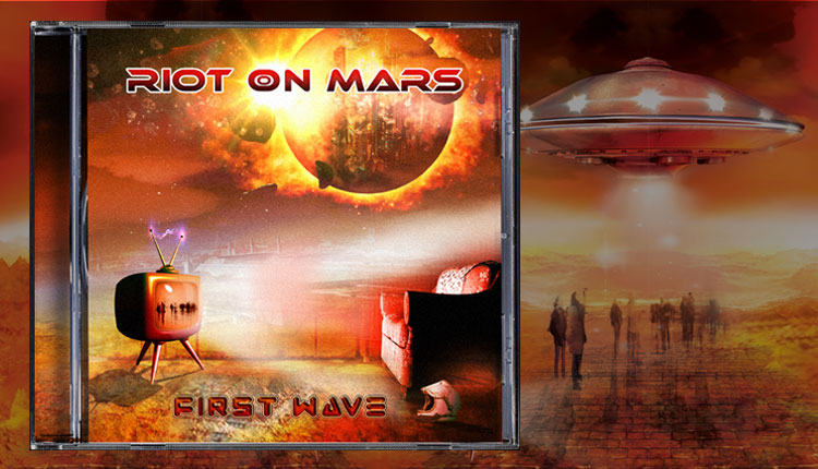 <i>First Wave</i><span>Riot On Mars</span>