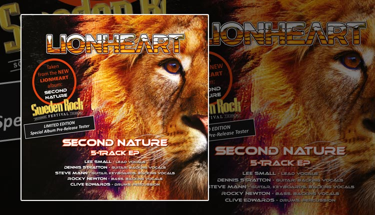 <i>Second Nature EP</i><span>LIONHEART</span>